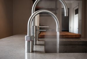 Boiling water tap in the kitchen of a house in Lake In The Hills, Illinois