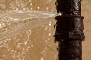 Burst water pipe repair in Bartlett, Illinois
